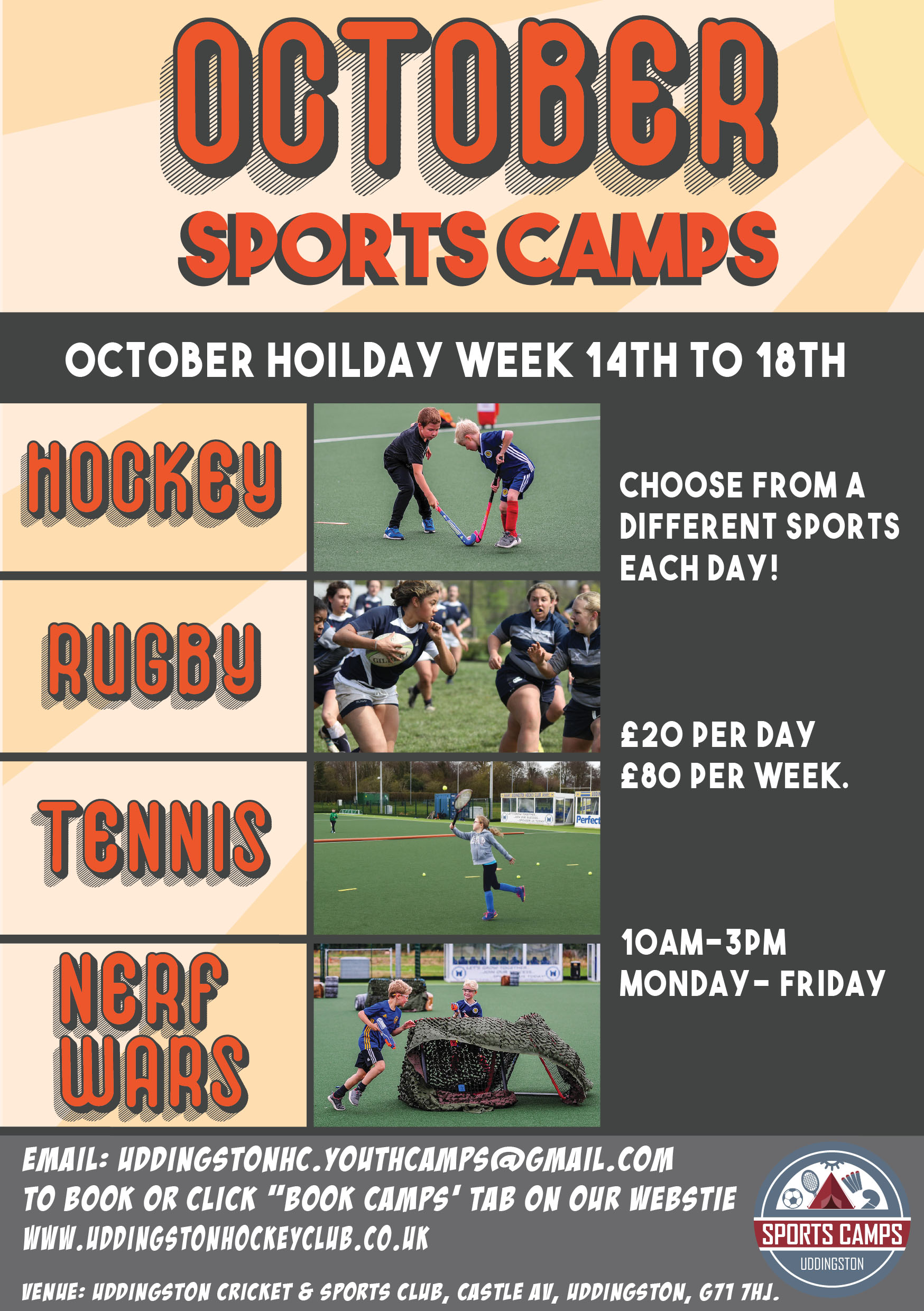 Multi sport camp October-01